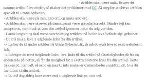 Betingelser for brug af artikeldatabasen gratisnyheder.dk
