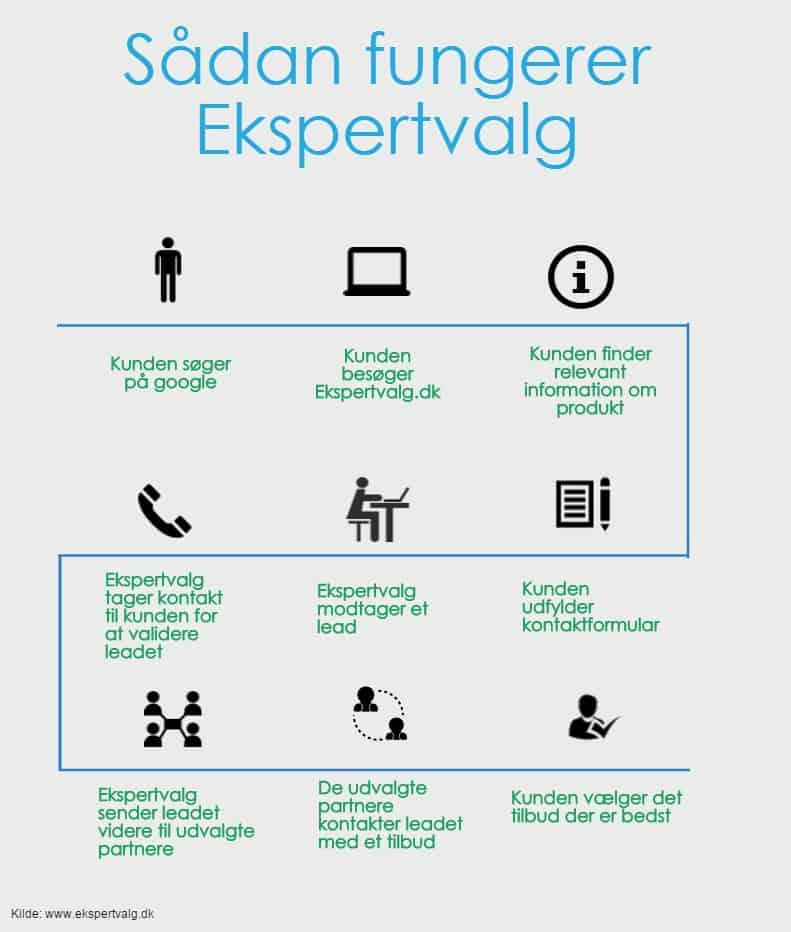 Grafik - sådan fungerer ekspertvalg.dk