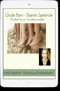 Glade Børn Stærke Søskende kursus ipad