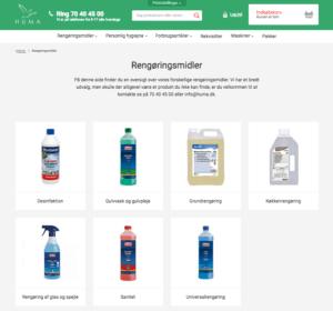 Ny webshop til huma.dk